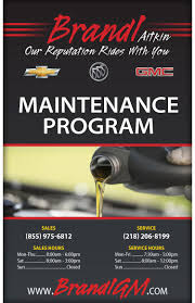 schedule car repair at brandl chevrolet buick gmc in aitkin