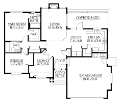 starter home floor plans house plans starter home home plan