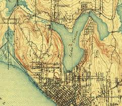 Downtown Seattle Map by Maps U2013 Hidden Hydrology