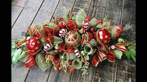 Ideas For Christmas Centerpieces - christmas centerpiece ideas youtube