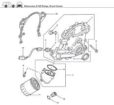 discovery ii engine oil pump rovers north classic land rover parts