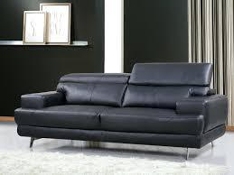 canapé cuir noir design articles with canape design 3 places cuir noir et blanc relax tag