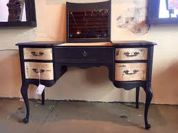 sold desk vanity with decoupage drawers arthaus150