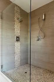Stone Floor Bathroom - stone floor u0026 accent stripe for the home pinterest stone