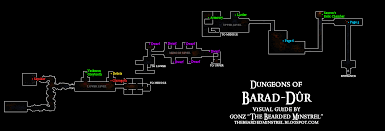 Space Debris Map Visual Guide To The Dungeons Of Barad Dûr