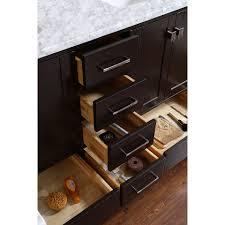 Bathroom Vanity Shelves Solid Wood Bathroom Vanity With Antique Look U2014 The Homy Design