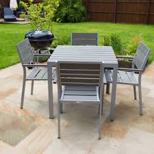 Tesco Dining Table And Chairs Buy Outdoor Furniture Polywood Dining Table Set 4 Seater From