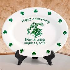 keepsake plates personalized anniversary keepsake plates