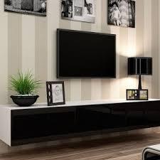 Wall Mounted Entertainment Shelves Furniture Wall Mount Entertainment Center In Brown With Beige