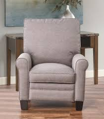 recliners julian pushback fabric recliner taupe