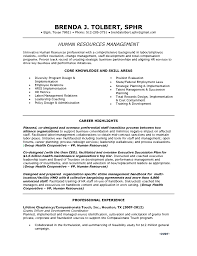 resume for a exle hr resume exle with director employee relations in tx brenda