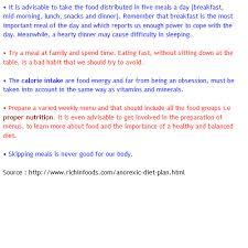 anorexia diet tips alexia maron