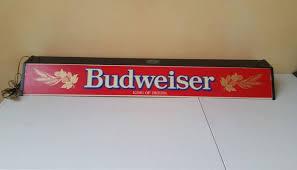 vintage budweiser pool table light beer pool table light oregonuforeview com