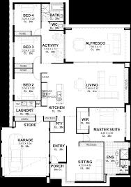 accessory dwelling unit floor plans 100 shallow lot home plans wonderful house plans for