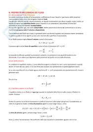 dispense meccanica dei fluidi meccanica dei fluidi appunti di fisica i