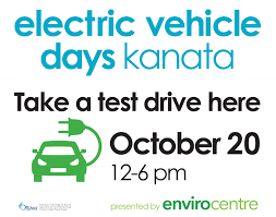 electric vehicles logo electric vehicle days kanata north business association