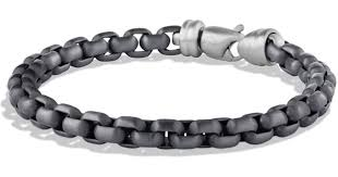 box chain bracelet images Lyst david yurman extralarge box chain bracelet with gray jpeg