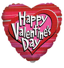 valentines day balloons wholesale 18 happy s day dots stripes mylar foil balloon