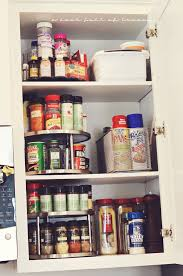 how to organize a lazy susan cabinet how to organize the kitchen a bowl of lemons