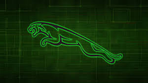 jaguar logo stunning attractive new jaguar car logo green neon digital hd