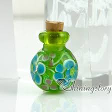 jewelry urns glass vial for pendant necklacekeepsake urns jewelrycremation urns