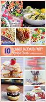 backyards bright backyard party summer edition diy treats