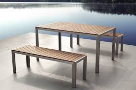 dining set garden bench table outdoor furniture beer 6 seater wood
