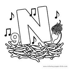 letter n coloring page u2013 corresponsables co