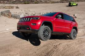jeep grand cherokee trailhawk 2017 jeep grand cherokee our review cars com