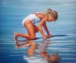Seeking Painting Seeking Painting By Tejera