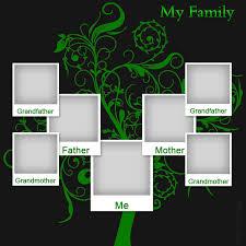 family tree templates for children
