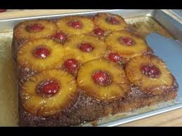 upside down pineapple cake from scratch youtube