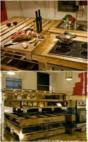 kitchen cabinets made out of pallet wood 10 brilliantly rustic diy pallet kitchen furniture ideas