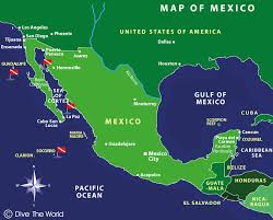 mexico in the world map map of mexico socorro islands guadalupe sea of cortez dive