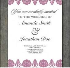 Wedding Invitations Free Online Free Print Out Wedding Invitation Templates Saflly Free