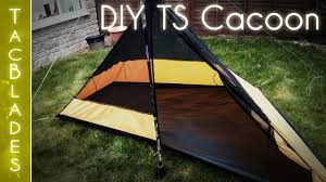 Cacoon Diy Mld Trail Star Cacoon Nest Wild Camping Youtube