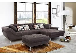 canap brun canapé d angle san francisco tissu brun foncé weba meubles