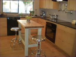 butcher block cutting board countertop white kitchen features