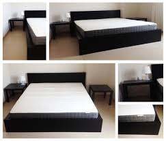 thrifty ikea malm queen bed frame design ideas ikea malm bed frame