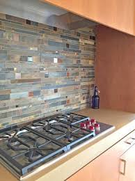 Kitchen Backsplashglass Tile And Slate by Backsplash Gives Your Kitchen A Smooth Finish