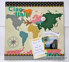 italy photo album 16 best italy scrapbook images on scrapbooking ideas