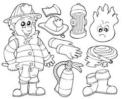 firefighter badges coloring pages