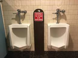 Funny Bathroom Pics Funny Bathroom Sign Picture Of Battista U0027s Hole In The Wall Las