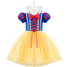 toddler girls snow white princess costume baby girls tulle flower