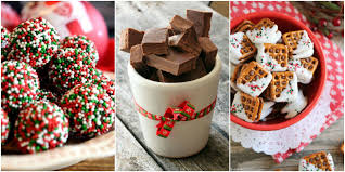 Christmas Sweet Recipes Gifts 45 Easy Christmas Candy Recipes Ideas For Homemade Christmas Candy
