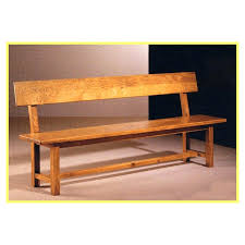 banc de cuisine en bois avec dossier newsindo co