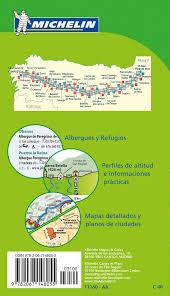 Camino Frances Map by Camino De Santiago Michelin Zoom Map 160 Booklet Format