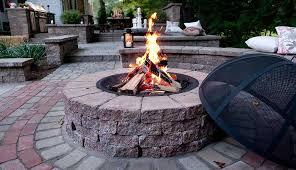 Backyard Firepit Ideas Fire Pits Fire Pit Design Installation Service Backyard Firepit
