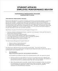 100 performance review template word 8 hr appraisal forms