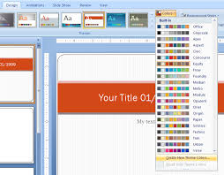 powerpoint design colors how to change theme colors in powerpoint mac ivcrawler info